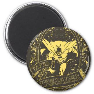 Batman - Caped Crusader Poster 6 Cm Round Magnet