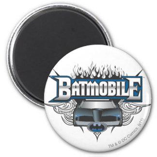Batman Car and Flames Magnets