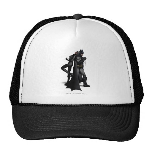 Batman & Catwoman Trucker Hats