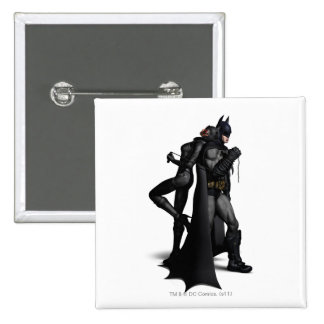 Batman Catwoman Pinback Buttons