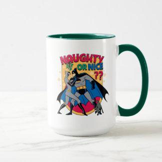 Batman | Catwoman Under Mistletoe Naughty Or Nice Mug