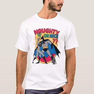 Batman | Catwoman Under Mistletoe Naughty Or Nice T-Shirt