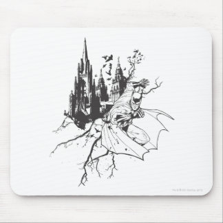 Batman City and Roots Mouse Pad