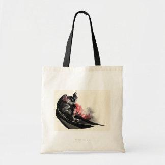 Batman City Smoke Budget Tote Bag