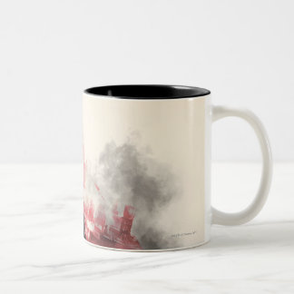 Batman City Smoke Coffee Mug