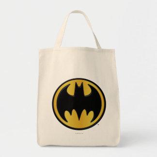 Batman Classic Logo 2 Grocery Tote Bag