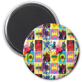 Batman Color Code Pattern 2 Refrigerator Magnets