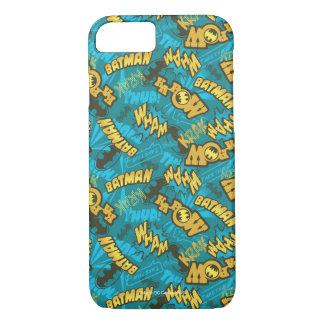 Batman Comic Capers Pattern 1 iPhone 8/7 Case
