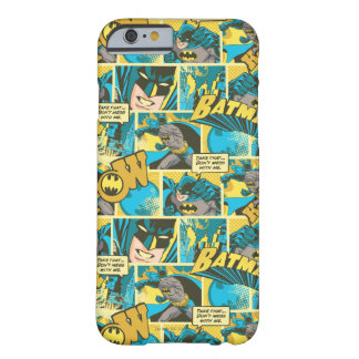 Batman Comic Capers Pattern 2 Barely There iPhone 6 Case