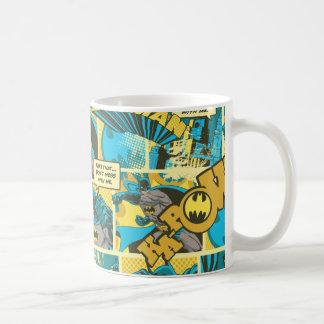 Batman Comic Capers Pattern 2 Coffee Mugs