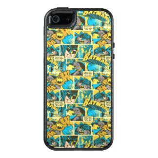 Batman Comic Capers Pattern 2 OtterBox iPhone 5/5s/SE Case