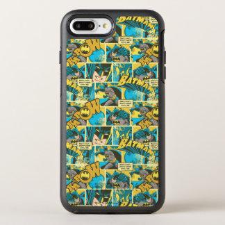 Batman Comic Capers Pattern 2 OtterBox Symmetry iPhone 7 Plus Case