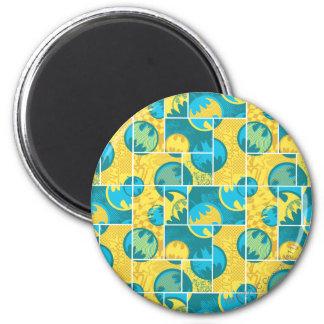 Batman Comic Capers Pattern 3 Magnets