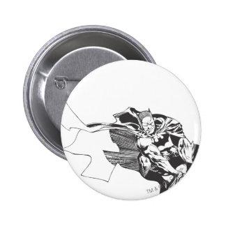 Batman Comic Lines 6 Cm Round Badge