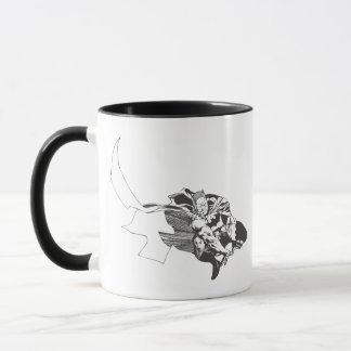 Batman Comic Lines Mug
