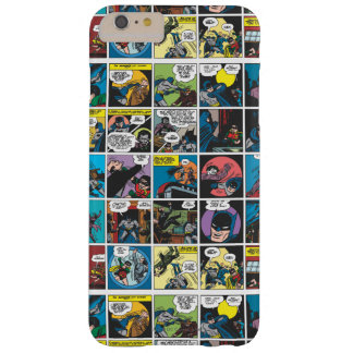 Batman Comic Panel 5x5 Barely There iPhone 6 Plus Case