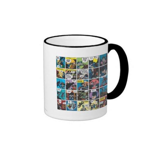 Batman Comic Panel 5x5 Mugs