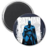 Batman Comic - Vintage Full View 6 Cm Round Magnet