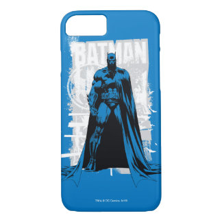 Batman Comic - Vintage Full View iPhone 8/7 Case