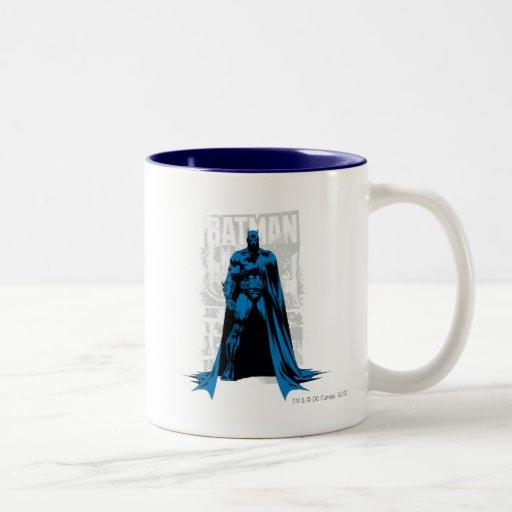 Batman Comic - Vintage Full View Mug