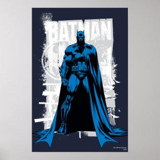 Batman Comic - Vintage Full View Poster
