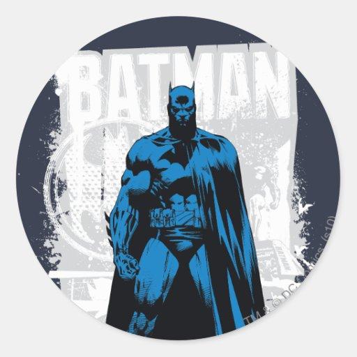 Batman Comic - Vintage Full View Sticker
