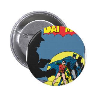 Batman Comic - with Robin 6 Cm Round Badge