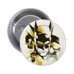 Batman Cowl and Skulls 6 Cm Round Badge