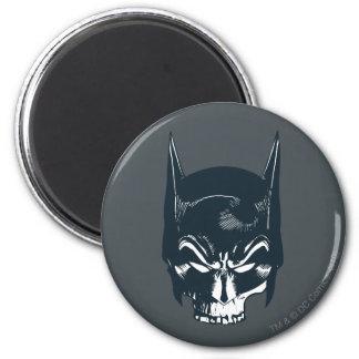 Batman Cowl/Skull Icon 6 Cm Round Magnet
