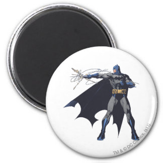 Batman crazy ropes 6 cm round magnet