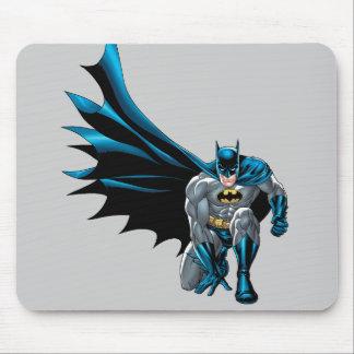 Batman Crouches Mouse Pad