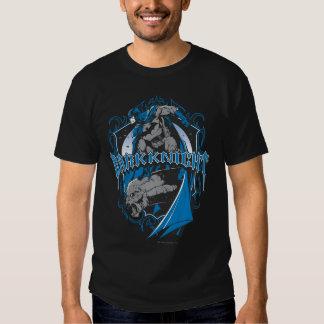 Batman Dark Knight   Blue Grey Logo Shirts