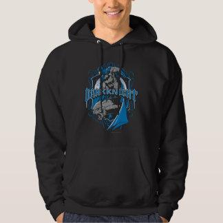 Batman Dark Knight   Blue Grey Logo Sweatshirts