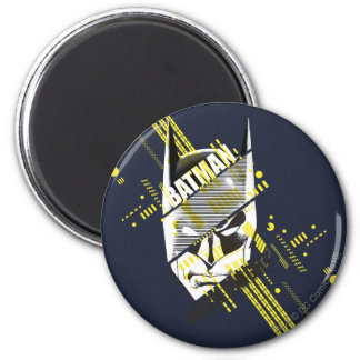Batman Dark Knight Futuristic 6 Cm Round Magnet