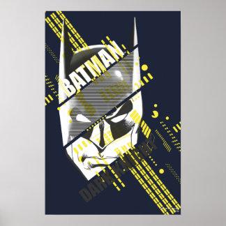 Batman Dark Knight Futuristic Poster