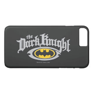 Batman Dark Knight | Name and Oval Logo iPhone 7 Plus Case