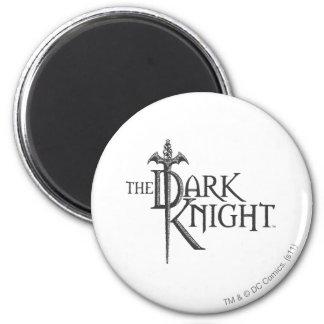 Batman Dark Knight | Name Brown Logo 6 Cm Round Magnet