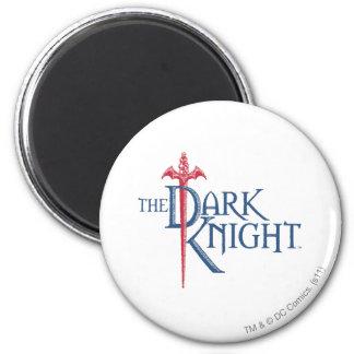 Batman Dark Knight Name Red Sword Logo 6 Cm Round Magnet