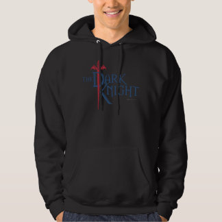 Batman Dark Knight   Name Red Sword Logo Hooded Pullovers