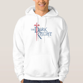 Batman Dark Knight   Name Red Sword Logo Hoodies