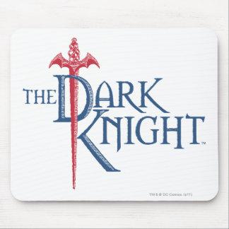 Batman Dark Knight   Name Red Sword Logo Mouse Pad