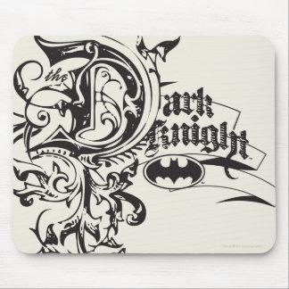 Batman Dark Knight | Ornate Logo Mouse Pad