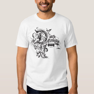 Batman Dark Knight | Ornate Logo Tshirt