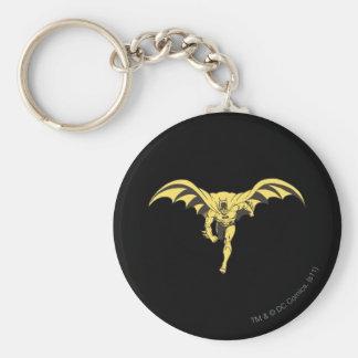 Batman Dash Yellow Basic Round Button Key Ring