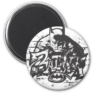 Batman Design 12 6 Cm Round Magnet