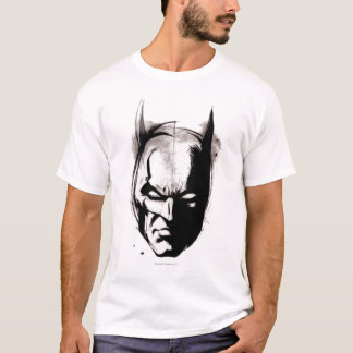 Batman Drawn Face T-Shirt