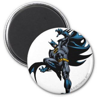 Batman Drops Down 6 Cm Round Magnet