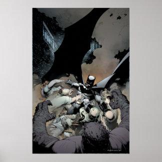 Batman Fighting Arch Enemies Posters