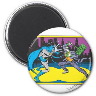 Batman Fights Joker Refrigerator Magnet