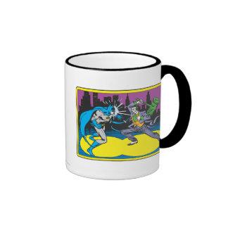 Batman Fights Joker Ringer Mug